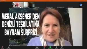 Meral Akşener'den Denizli Teşkilatına bayram sürprizi