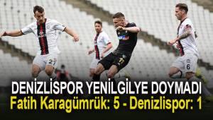 Süper Lig: Fatih Karagümrük: 5 - Denizlispor: 1