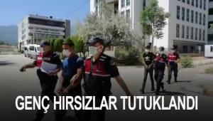 Yaşından fazla suç kaydı bulunan genç hırsızlar tutuklandı