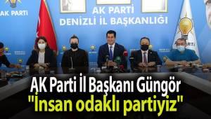 AK Parti İl Başkanı Güngör;