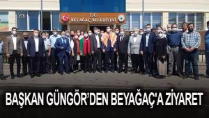 Başkan Güngör'den Beyağaç'a ziyaret