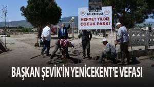 Buldan Belediye Başkanı Mustafa Şevik'in Yenicekent'e vefası