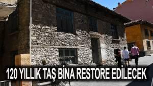 Buldan'da bir tarihi yapı daha turizme kazandırılıyor