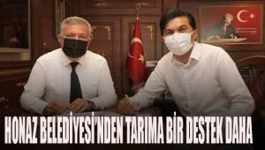 HONAZ BELEDİYESİ'NDEN TARIMA BİR DESTEK DAHA