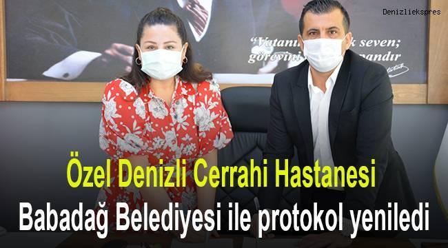 Özel Denizli Cerrahi Hastanesi, Babadağ Belediyesi ile protokol yeniledi