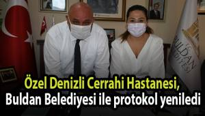 Özel Denizli Cerrahi Hastanesi, Buldan Belediyesi ile protokol yeniledi