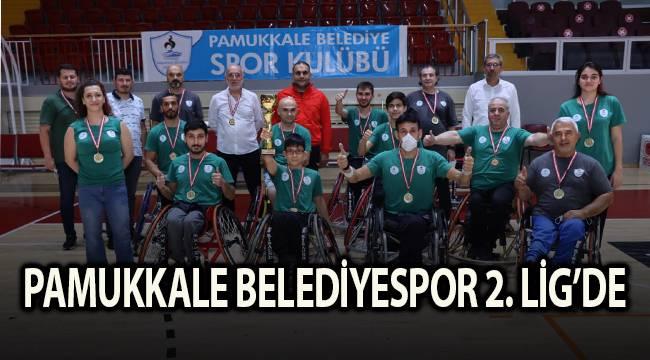 PAMUKKALE BELEDİYESPOR 2. LİG'DE