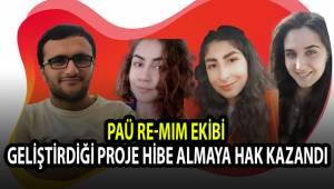 PAÜ Re-MIM Ekibi Geliştirdiği Proje Hibe Almaya Hak Kazandı