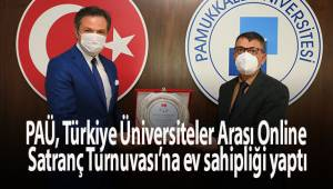 PAÜ, Türkiye Üniversiteler Arası Online Satranç Turnuvası'na ev sahipliği yaptı
