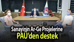 Sanayinin Ar-Ge Projelerine PAÜ'den destek