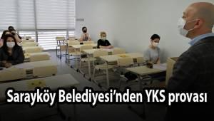 Sarayköy Belediyesi'nden YKS provası