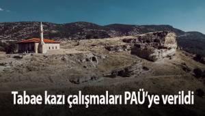 Tabae kazı çalışmaları PAÜ'ye verildi