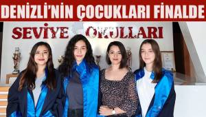 Z kuşağının üç temsilcisi avukat, savcı ve hakim oldu, Denizli'yi Türkiye finaline taşıdı.