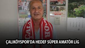 Çalıköyspor'da hedef Süper Amatör Lig