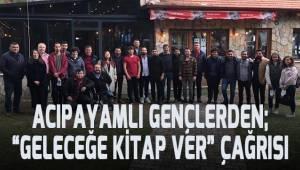 CHP'li gençler Acıpayam'a kütüphane kazandırıyor
