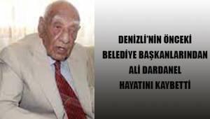 Denizlispor'un eski belediye başkanlarından Ali Dardanel hayatını kaybetti