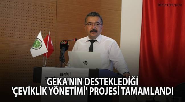 GEKA'nın desteklediği 'Çeviklik Yönetimi' projesi tamamlandı