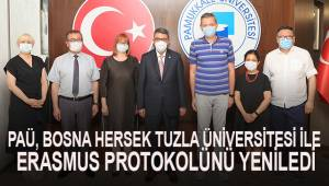 PAÜ, Bosna Hersek Tuzla Üniversitesi ile Erasmus Protokolünü Yeniledi