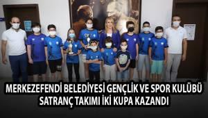 Merkezefendi Belediyesi Gençlik ve Spor Kulübü SATRANÇ TAKIMI İKİ KUPA KAZANDI