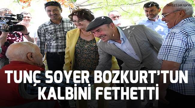 TUNÇ SOYER BOZKURT'TUN KALBİNİ FETHETTİ