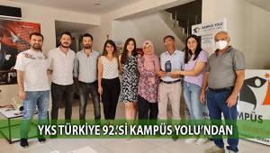 YKS Türkiye 92.'si Kampüs Yolu'ndan