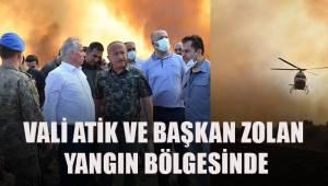 Buldan'daki yangın bölgesi için Denizli seferber oldu.