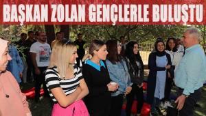 Başkan Zolan gençlerle buluştu