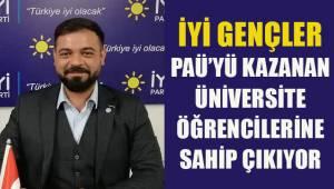 İYİ Gençler PAÜ'yü kazanan üniversite öğrencilerine sahip çıkıyor