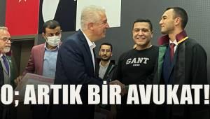 Mustafa Can Yalçın, yeminini etti, cüppesini giydi