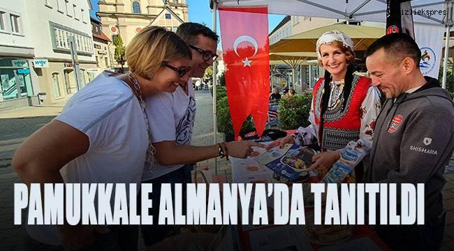 PAMUKKALE ALMANYA'DA TANITILDI