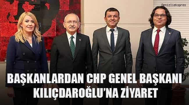 Başkanlardan CHP Genel Başkanı Kılıçdaroğlu'na ziyaret