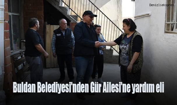 Buldan'da ihtiyaç sahibi ailenin evini, Belediye yenileyecek