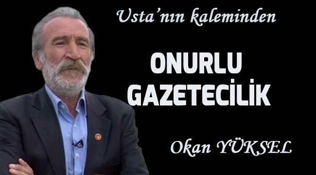 ONURLU GAZETECİLİK