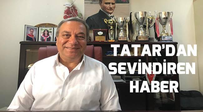 Tatar'dan sevindiren haber